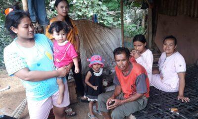 pemutusan program penyediaan air minum dan sanitasi berbasis masyarakat (Pamsimas) terhadap 4 Kepala Keluarga (KK) yang menunggak pembayaran