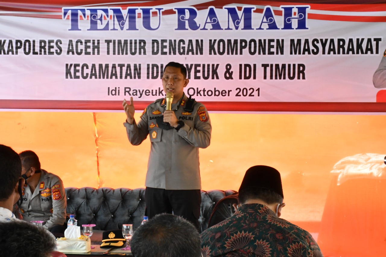 alumni Akademi Angkatan Bersenjata Republik Indonesia (AKABRI) 1999 di Kabupaten Aceh Timur pada hari pertama dipusatkan di Polsek Idi Rayeuk