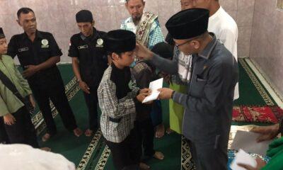 Masjid Jami Nurul Huda yang berada di Desa Gunung malang Kecamatan Cikidang Kabupaten Sukabumi merupakan ke 60 dalam kunjungannya