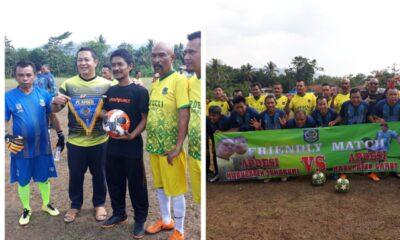 Apdesi) Sukabumi dan Garut menjalin sinergitas melalui pertandingan sepak bola sekaligus dijadikan studi banding dalam kepemerintahan.