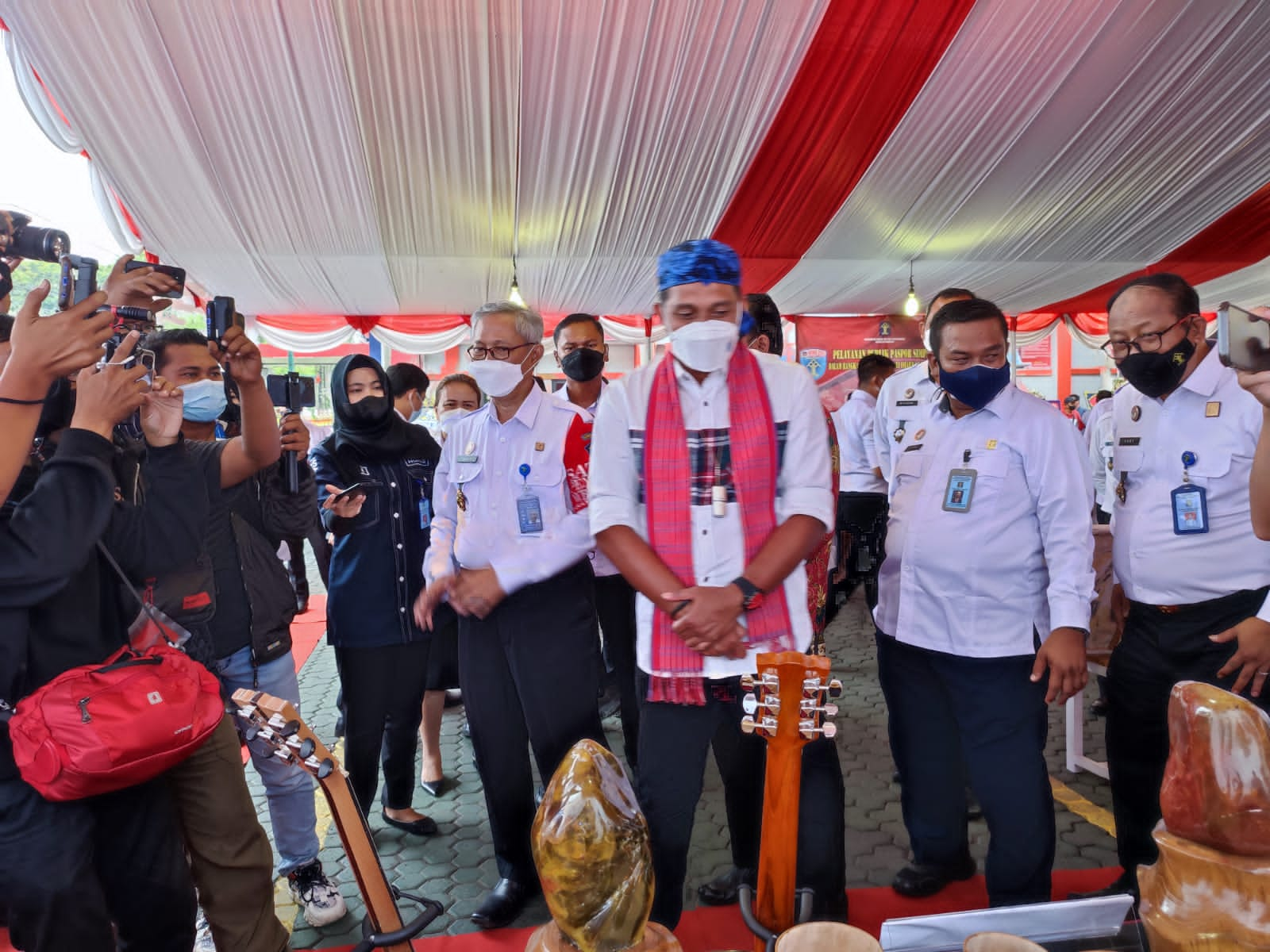Hari Dharma Karya Dhika (HDKD) 2021 Kementerian Hukum dan HAM, Kantor Wilayah Kemenkumham Banten Mengadakan Pameran