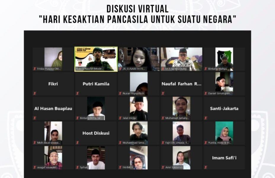 Serikat Mahasiswa Muslimin Indonesia (SEMMI) Cabang Jakarta Pusat mengadakan diskusi dengan tema Kesaktian Pancasila dalam suatu Negara